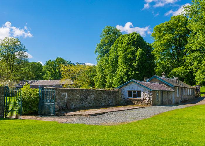 The Head Gardener\'s Cottage - Single storey, stone-built cottage ...